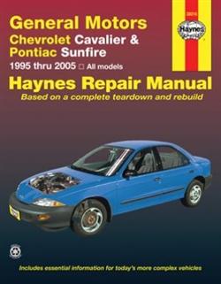 haynes repair manual for general motors chevy cavalier and Pontiac Sunbird 1997 Pontiac Sunfire