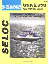 sea doo  bombardier jet ski repair manual gs  gsi  gsx  gts  gtx  hx  sp  spi  spx  xp Sea-Doo Models 2000 Seadoo
