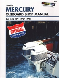 Mercury outboard manual service shop and repair manuals for Boat motor repair shops