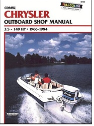 Chrysler outboard manual service shop and repair for Outboard motor repair shop