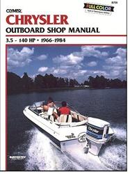 Chrysler outboard manual service shop and repair for Boat motor repair shops